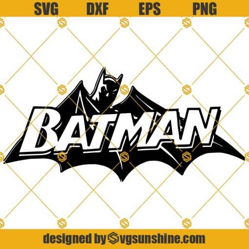 Batman Bat Man Super Hero Logo SVG