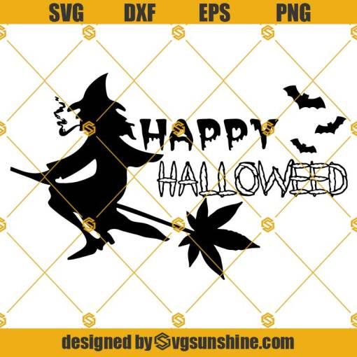 Happy Halloweed SVG, Weed Halloween SVG