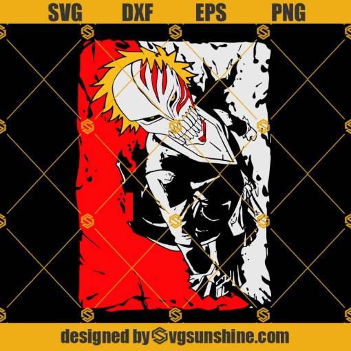 Ichigo Bankai Bleach SVG