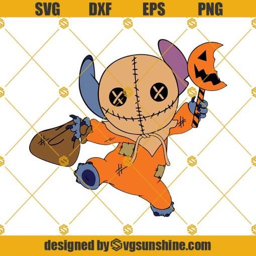 Stitch Sam Trick or Treat SVG Sam PNG Halloween SVG