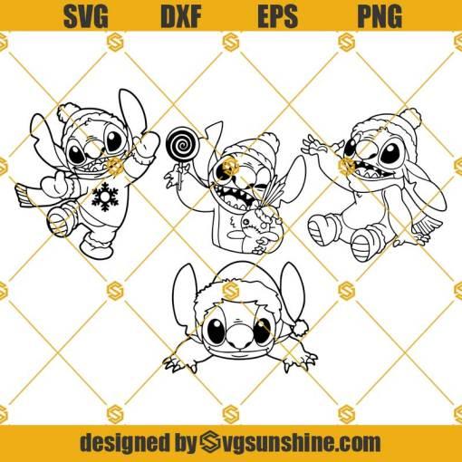 Cartoon Character SVG, Stitch SVG