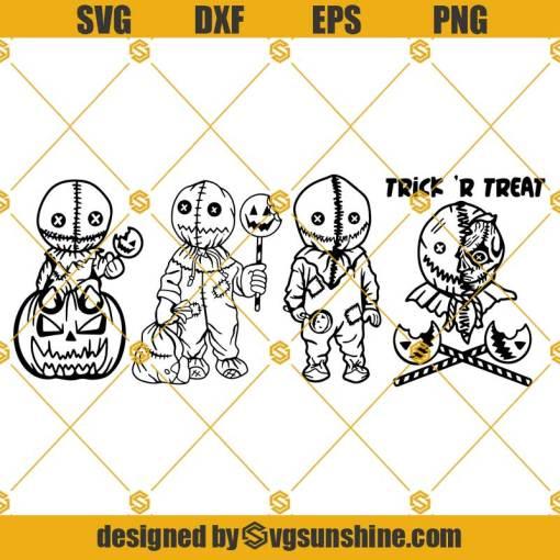 Trick R Treat SVG, Trick Or Treat SVG Bundle, Pumpkin Halloween SVG