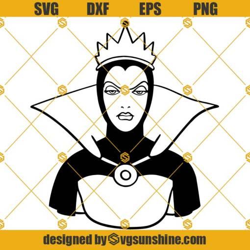 Evil Queen Snow White SVG