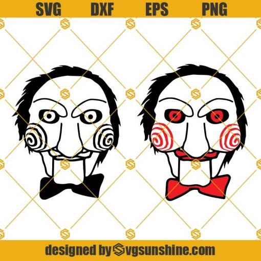 Jigsaw SVG, Jigsaw Vector, SAW Movie ClipArt SVG, Saw SVG