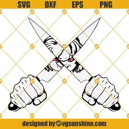 Chucky Knife SVG Childs Play Horror SVG, Chucky SVG Halloween SVG