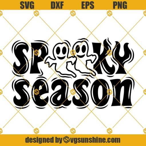 Halloween Season Spooky Svg, Spooky Png, Funny Halloween Svg, Cute Halloween Svg