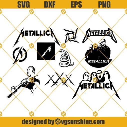 Metallica SVG Bundle, Metallica SVG PNG DXF EPS