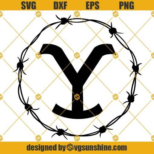Dutton Ranch Yellowstone Logo SVG, Yellowstone SVG