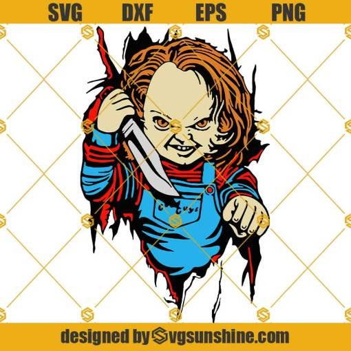 Halloween Horror Chucky SVG