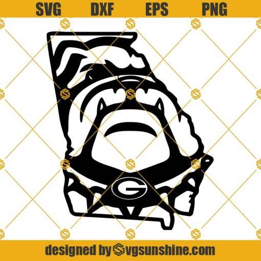 Georgia Bulldogs Football SVG