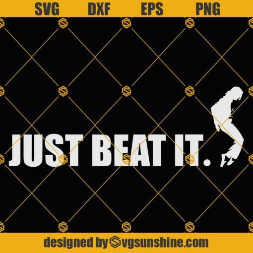 Michael Jackson SVG Just Beat It SVG, Michael Jackson Vector Clipart, Michael Jackson Cricut Silhouette Cameo