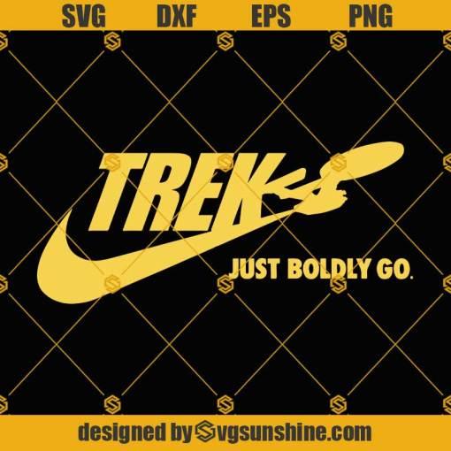 Star Trek SVG, Trek Just Boldly Go SVG, Star Trek Enterprise SVG, Star Trek Logo SVG