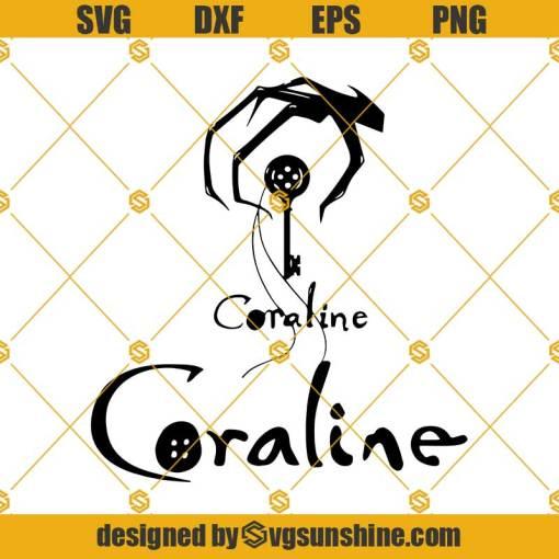 Coraline SVG, Coraline Layered SVG , Coraline Cricut Cut files Silhouette