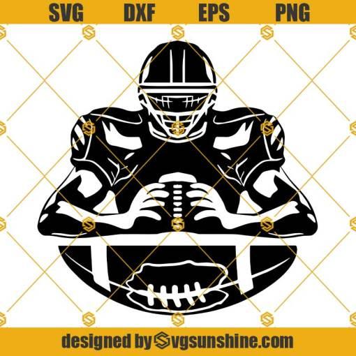 American Football Player SVG, Football Team SVG