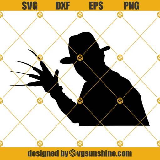 Freddy Krueger SVG, Freddy Krueger Vector, Freddy Krueger PNG, Freddy Krueger DXF, Freddy Krueger Cricut Silhouette