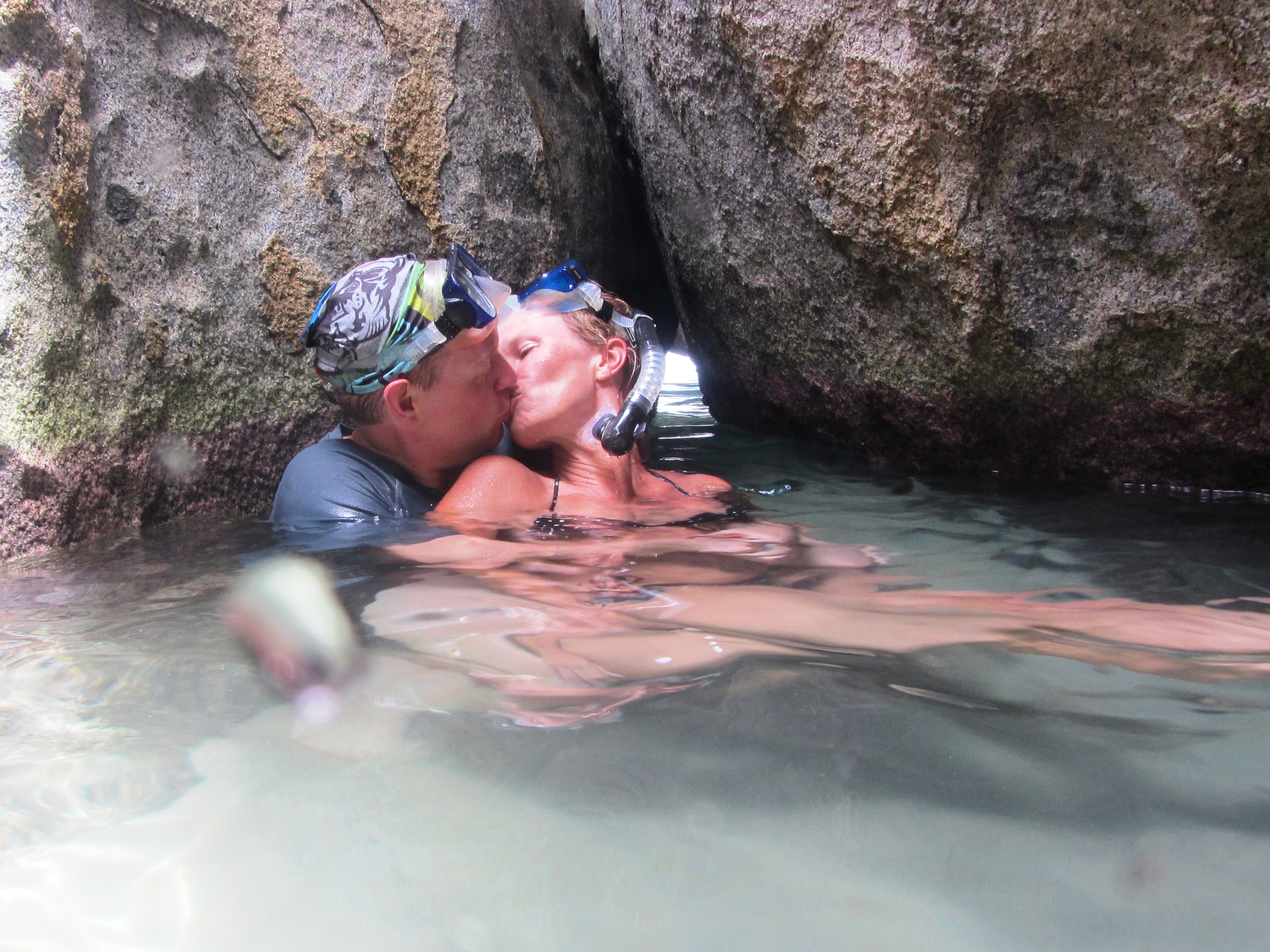Kissing in the Baths
