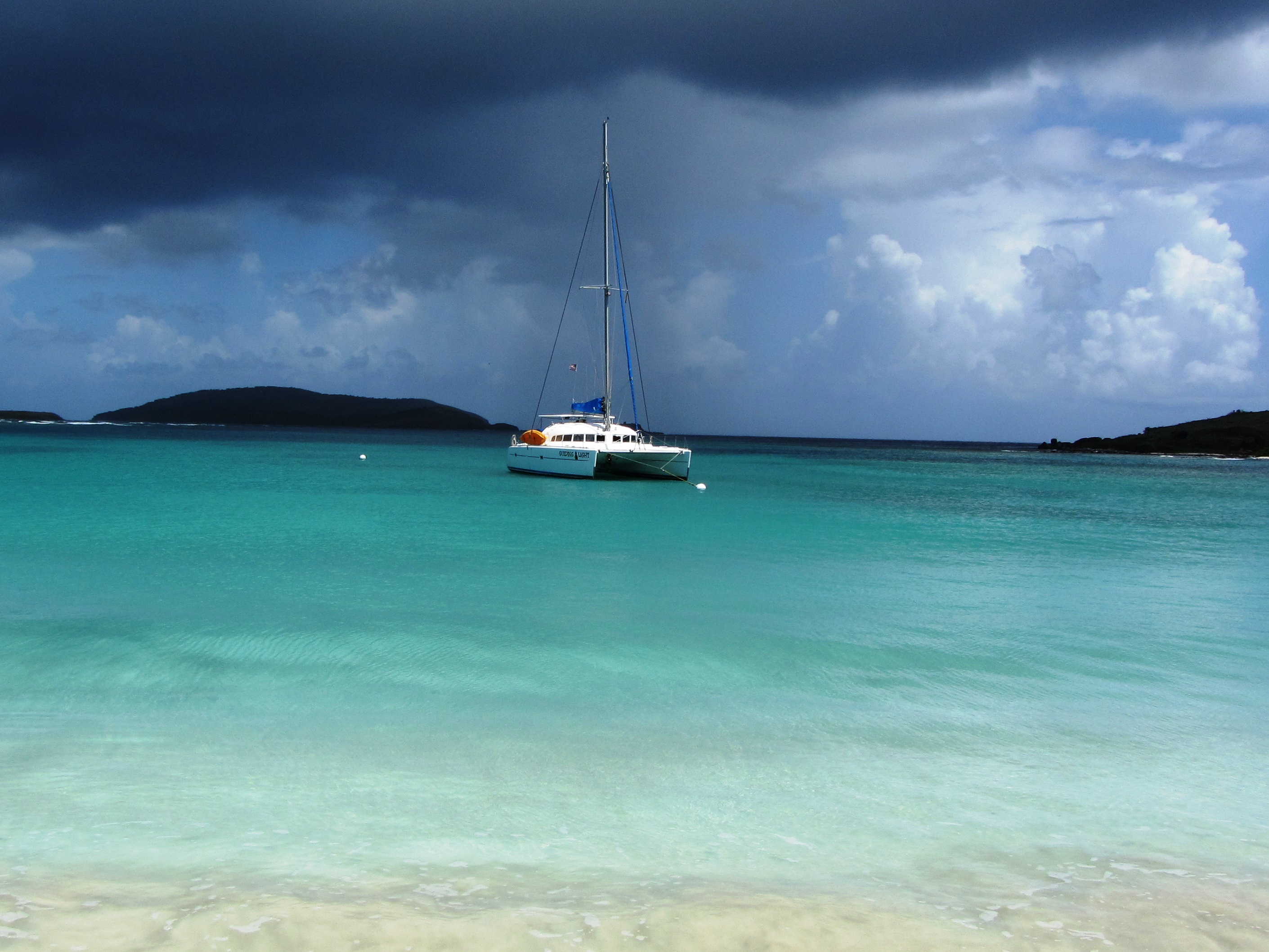 Anchored in Culebrita