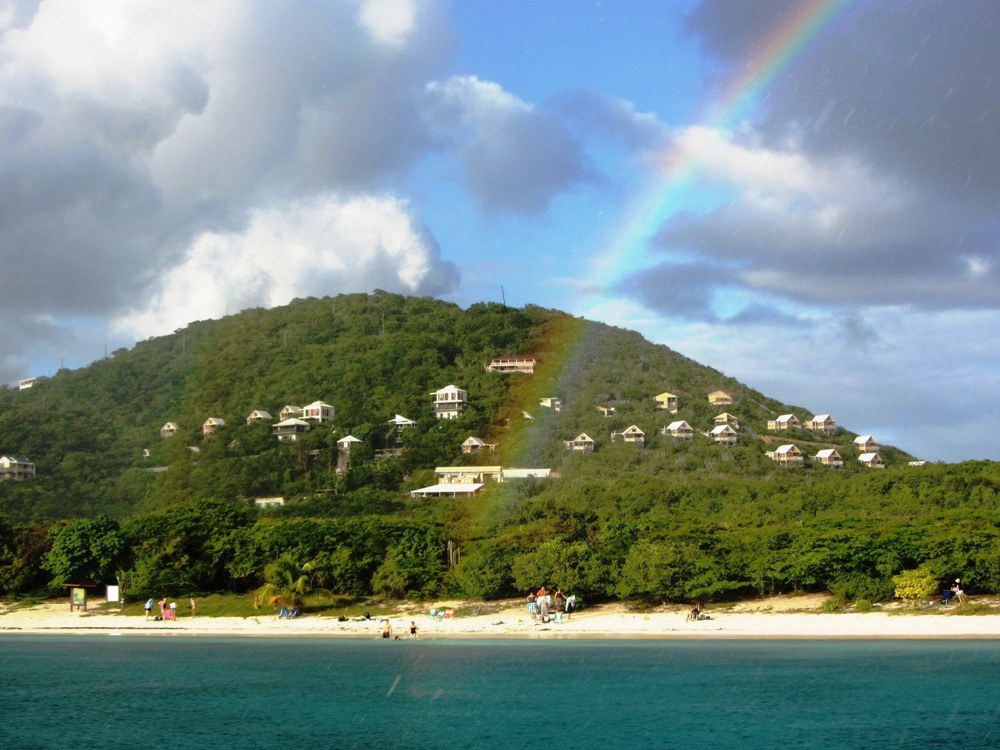 Rainbow Over Salt Pond Beach