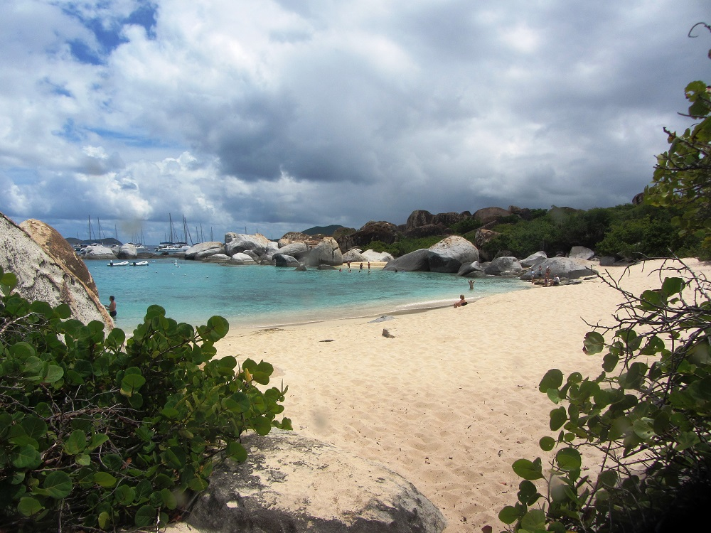Devil's Bay on Virgin Gorda