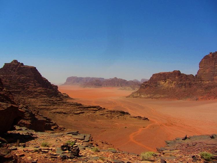 Wadi Rum vista
