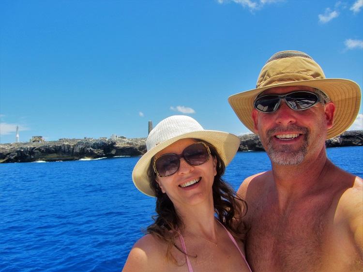 Us at Sombrero Island
