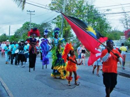 Parade in Antigua
