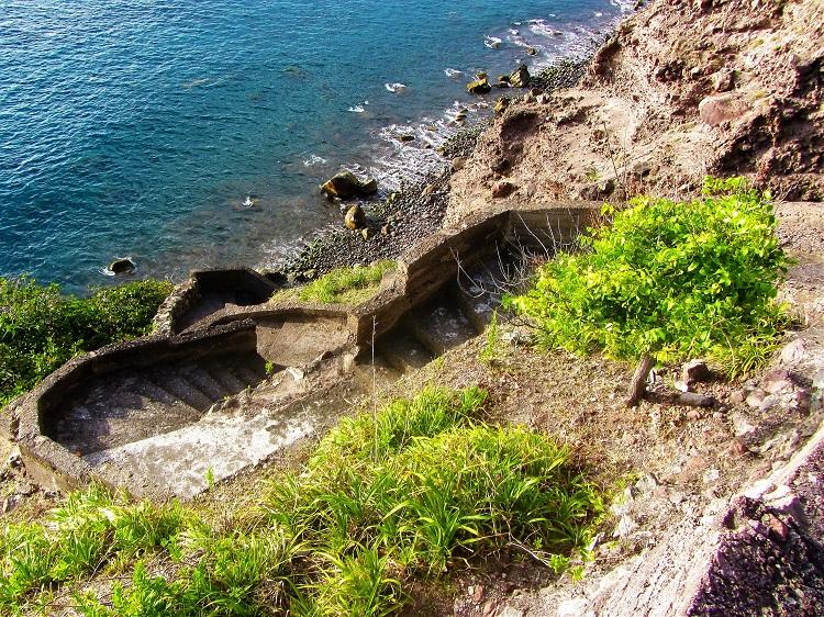 The Ladder on Saba