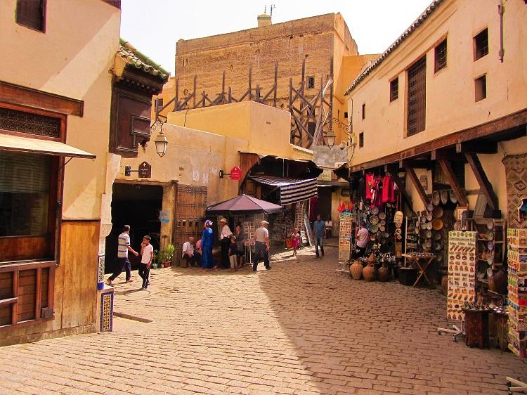 Fez square