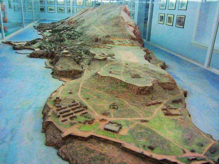 Model of Gibraltar