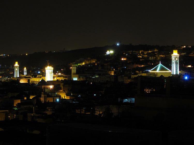 Morocco - Fez - At Night