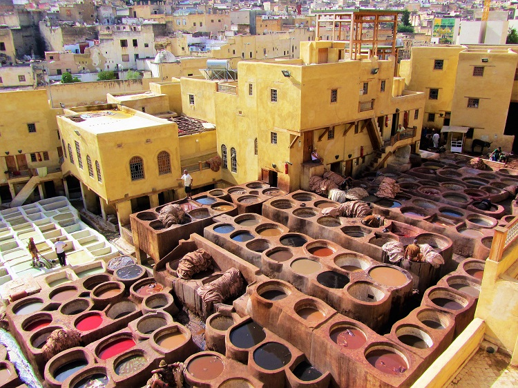 Morocco - Fez - Tanneries