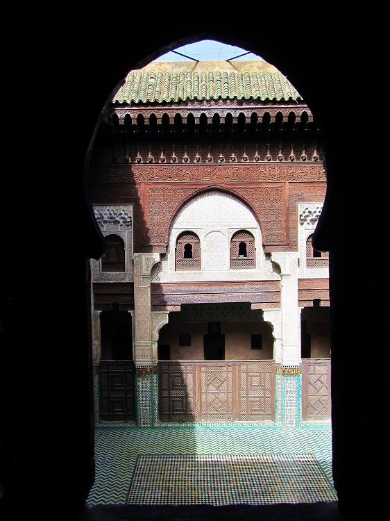 Morocco - Meknes - Medersa Bou Inania