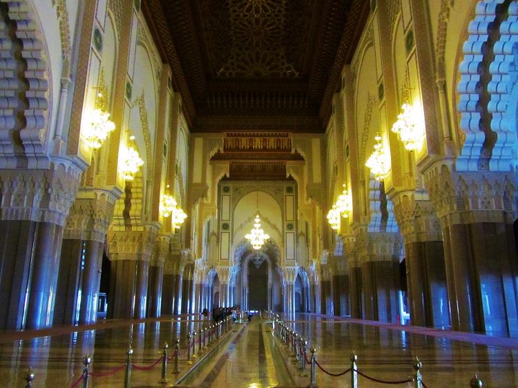 Casablanca - Mosque Interior