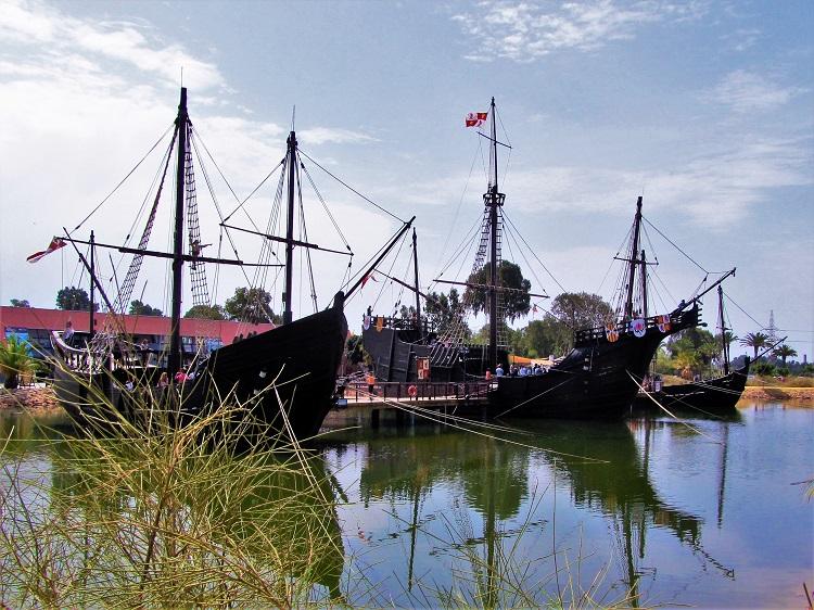 Replicas of Columbus's ships