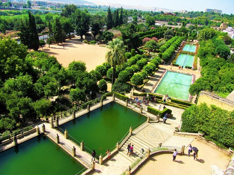 Alcazar Garden in Cordoba
