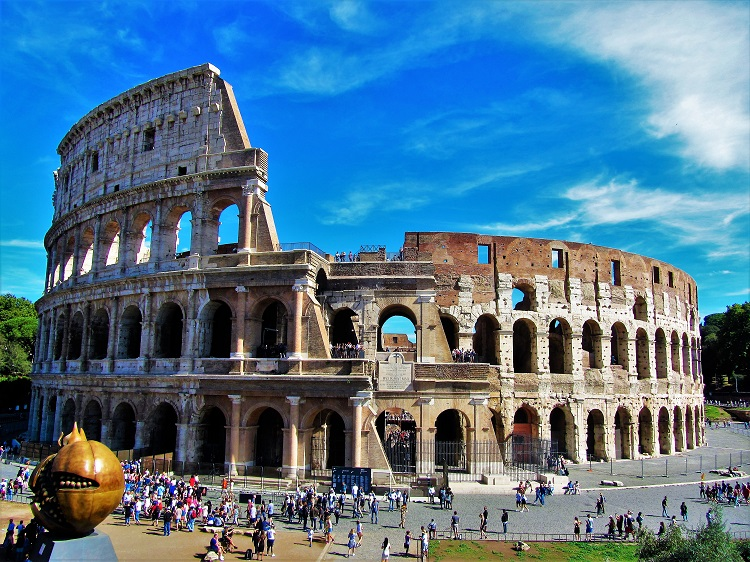 Italy - Rome - Ancient - Colosseum 1
