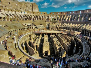 Italy - Ancient Rome - Colosseum 3