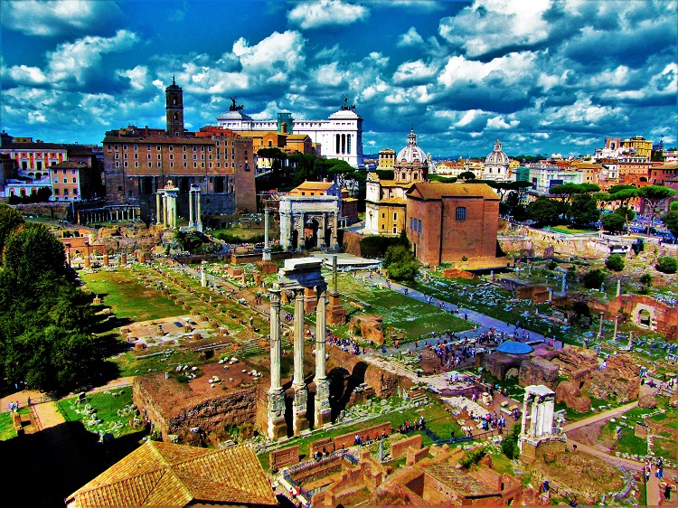 Italy - Rome - Ancient - Forum 1
