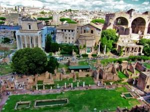 Italy - Ancient Rome - Forum 2