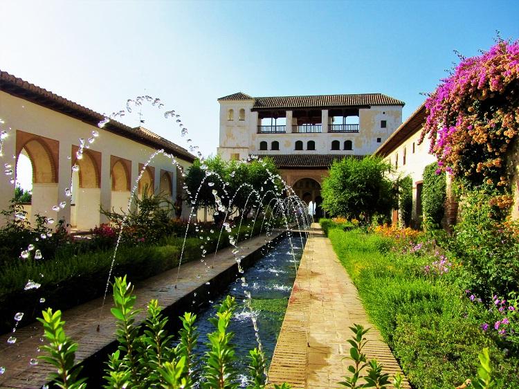 POTD - Spain - Granada - Alhambra Garden