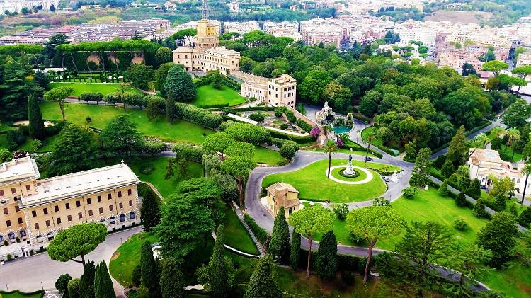 POTD - Vatican City Gardens