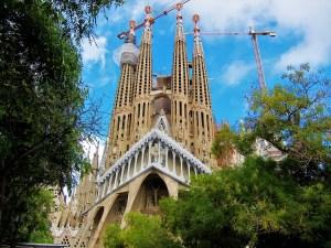Spain - Barcelona - Gaudi - Sagrada Família 1