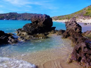 St Barts travel guide - Colombier Beach