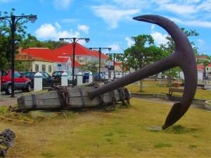 St Barts - Gustavia - Anchor