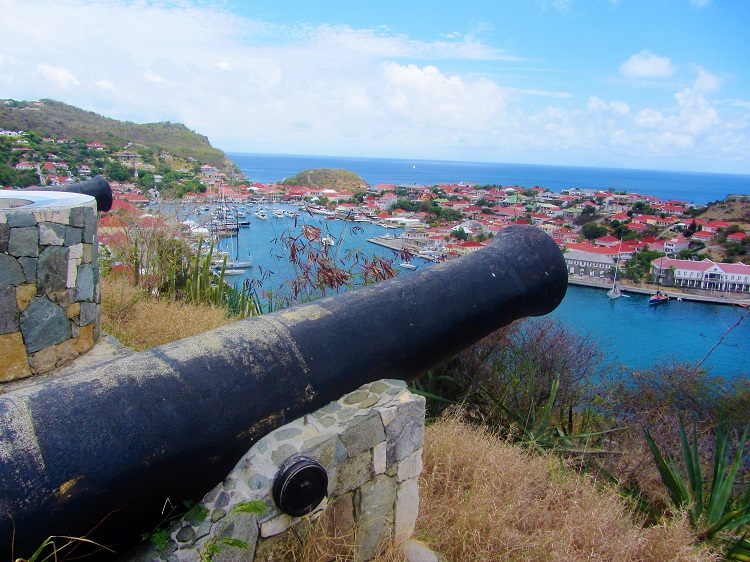St Barts travel guide - Gustavia - From Fort Gustav