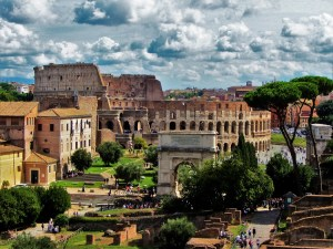 Forum to Colosseum