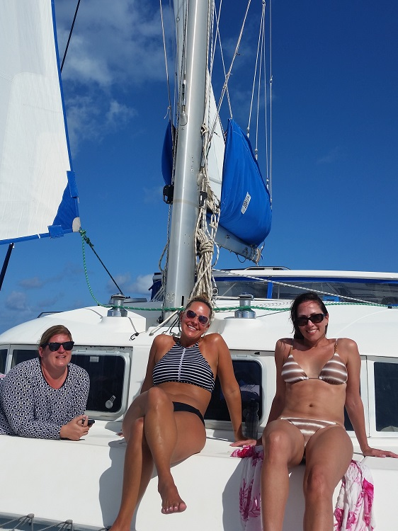 Sailing in the BVI