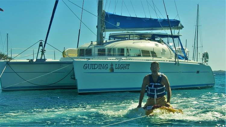 Tubing with the Guiding Light
