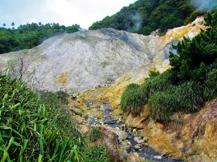 Sulphur Springs with stream