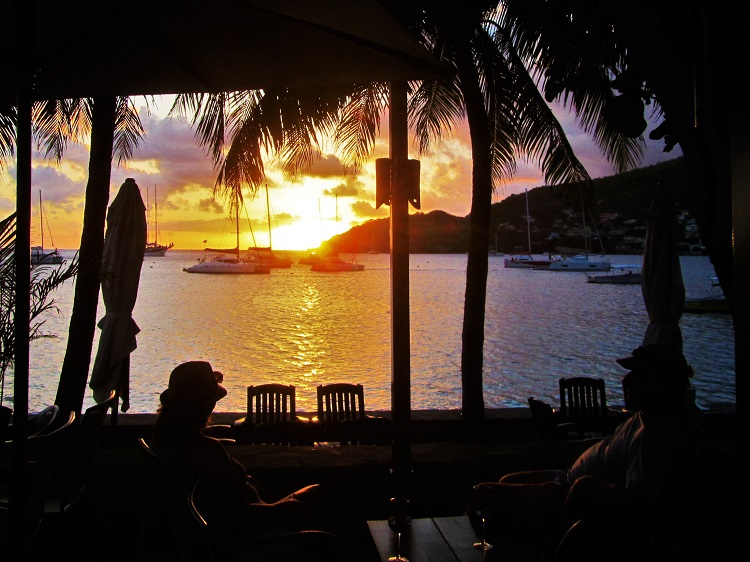 Sunset in Bequia